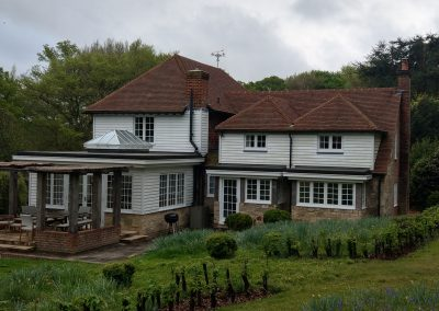 East Sussex extensions and internal - external refurbishment - project management