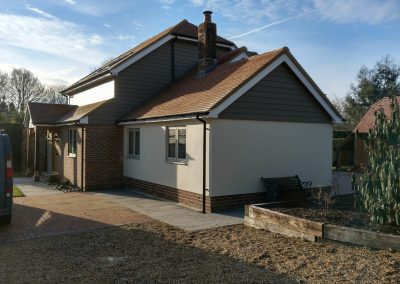 Extended and altered bungalow East Sussex