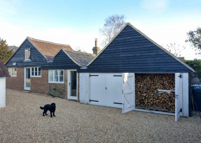 Listed Building East Sussex art studio annexe conversion refurbishment