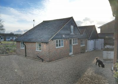 Listed building outbuilding conversion to annexe framfield