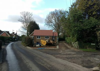 Planning Permission for New Dwelling Ashurst Wood-west sussex