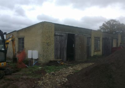 Tonbridge Barn Conversion works commencement